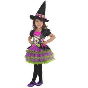 Stitch Witch Dress Toddler Girls Halloween Costume